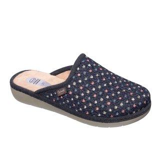 Scholl LAUREN modrá - domácí zdravotní obuv