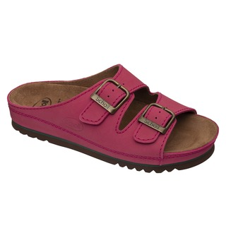 Scholl AIR BAG - červené zdravotní pantofle