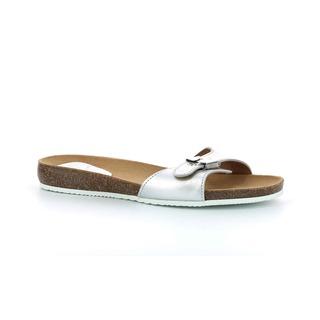 Scholl BAHAMAIS - stříbrné zdravotní pantofle