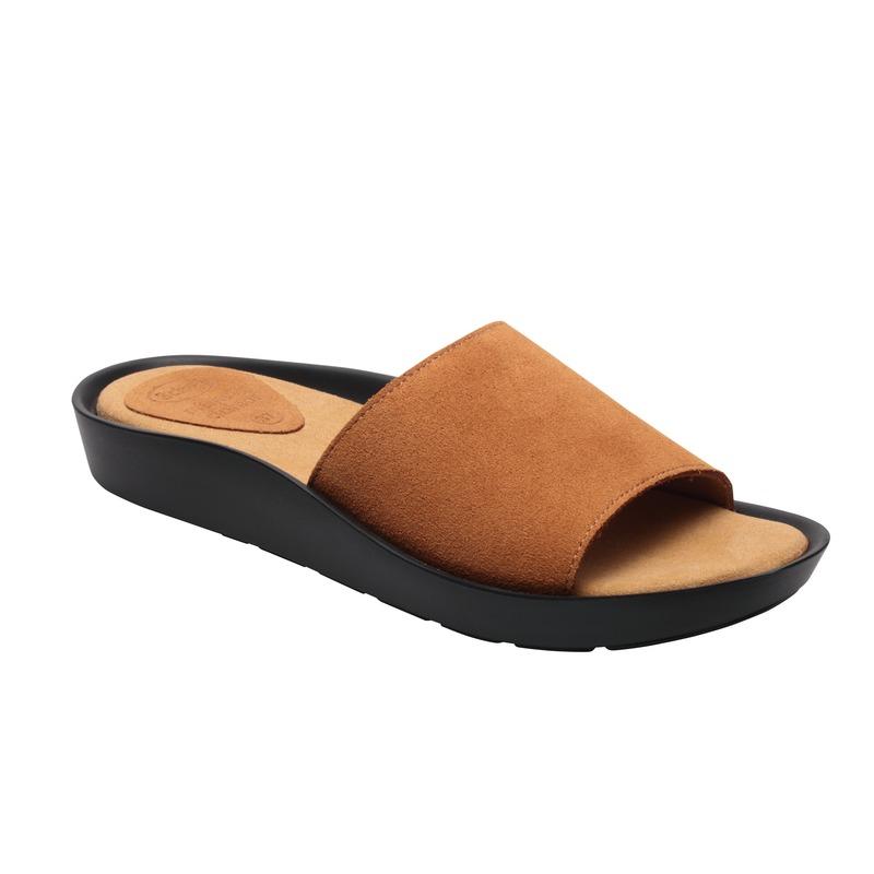 Scholl MEISSA hnědé - dámské zdravotní pantofle