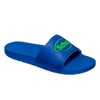 Scholl WOW - modré zdravotní pantofle