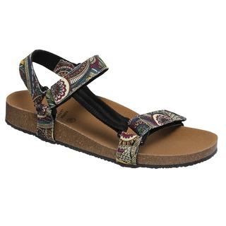 Scholl GREENY HEAVEN - zelené zdravotní sandály