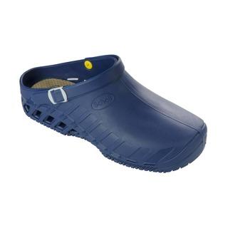 Scholl CLOG EVO - modrá pracovní obuv