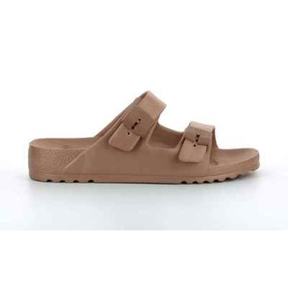 Scholl SHO BAHIA - bronzové zdravotní pantofle
