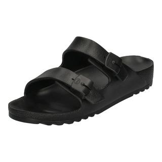Scholl SHO BAHIA černé zdravotní pantofle