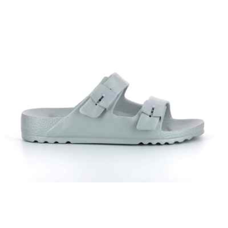 Scholl SHO BAHIA stříbrné zdravotní pantofle