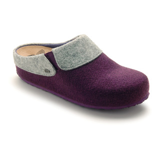 Scholl KAPEL purpurová domácí zdravotní obuv