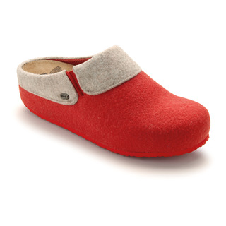 Scholl KAPEL červená domácí zdravotní obuv