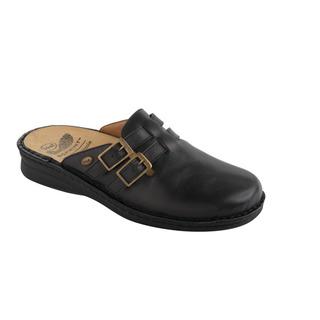 Scholl NEW INDOOR - černé zdravotní pantofle
