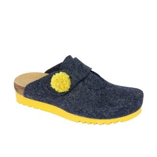 Scholl ELVY tmavě modrá - domácí zdravotní obuv