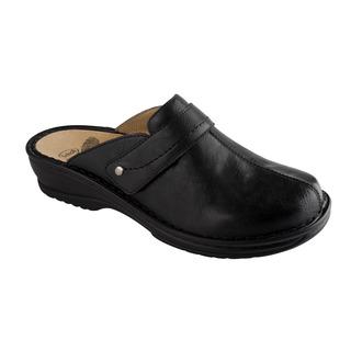Scholl LENK černé - domácí zdravotní pantofle