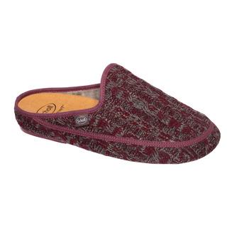 Scholl MADDY červená domácí obuv