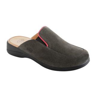 Scholl MOUE tmavě šedá - domácí zdravotní obuv