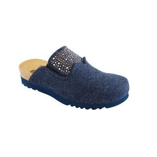 Scholl SANAKE tmavě modrá - domácí zdravotní obuv