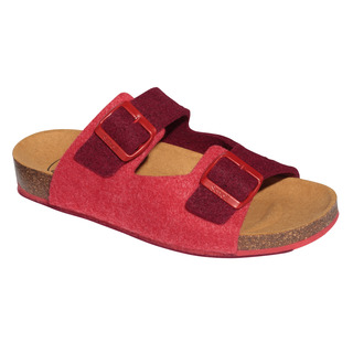 Scholl SPIKEY8 červené - domácí zdravotní pantofle