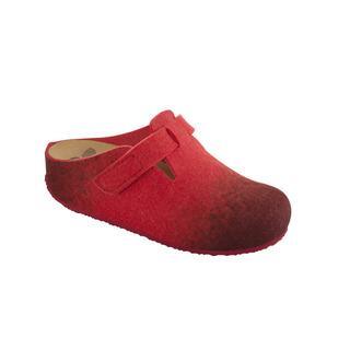 Scholl RENLY červená domácí obuv
