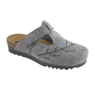 Scholl FOTINIA šedá domácí obuv