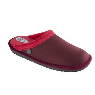 Scholl NEW BRIENNE tmavě červená - domácí zdravotní obuv