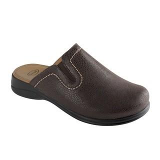 Scholl NEW TOFFEE tmavě hnědá - domácí zdravotní obuv