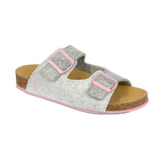 Scholl SPIKEY SS 8 - šedé zdravotní pantofle