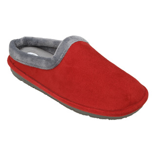 Scholl SIMONE červená / šedá domácí obuv