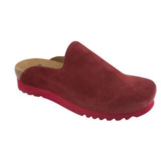 Scholl SIRDAL červená domácí obuv