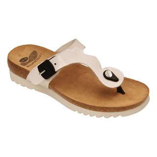 Scholl BERIC bílé - zdravotní pantofle