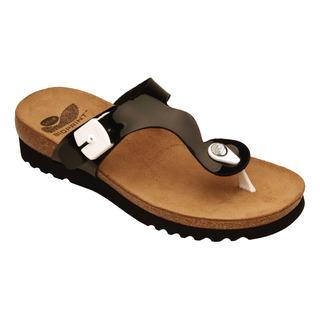 Scholl BERIC černé - zdravotní pantofle