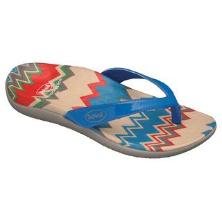 Scholl BOREA modré - zdravotní pantofle