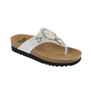 Scholl TAILA bílé - zdravotní pantofle