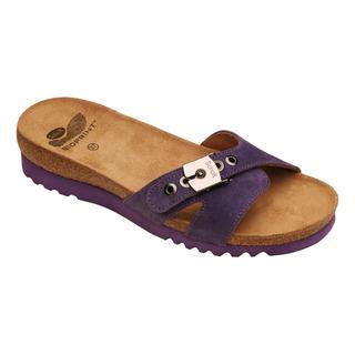 Scholl ESME purpurové - zdravotní pantofle