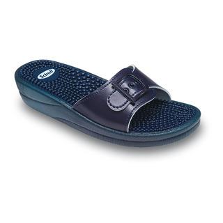 Scholl FITNESS NEW MASSAGE tmavě modré - zdravotní pantofle