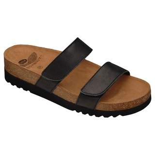 Scholl LUSAKA černé - zdravotní pantofle