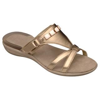 Scholl LYNN platinové / bílé - zdravotní pantofle