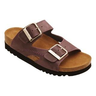 Scholl MOLDAVA WEDGE - fialové zdravotní pantofle