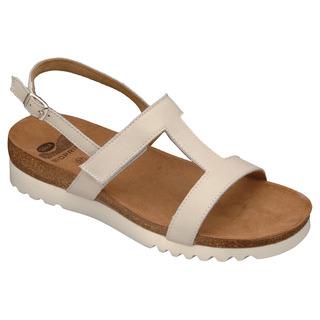Scholl NEW LABA bílé - zdravotní pantofle