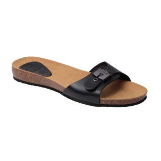 Scholl BAHAMA 2.0 - černé zdravotní pantofle