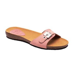 Scholl BAHAMA 2.0 - světle růžové zdravotní pantofle