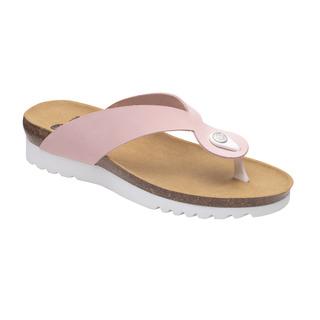 Scholl KENNA světle růžové zdravotní pantofle
