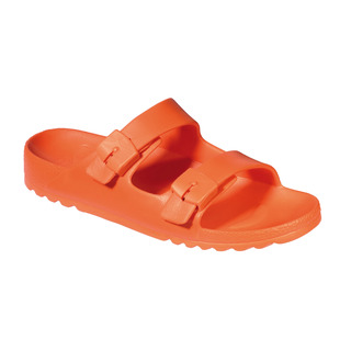 Scholl BAHIA - oranžové zdravotní pantofle