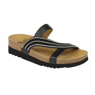 Scholl FELISA černé zdravotní pantofle