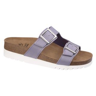 Scholl FILIPPA - světle fialové zdravotní pantofle