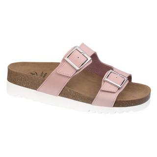 Scholl FILIPPA - světle růžové zdravotní pantofle