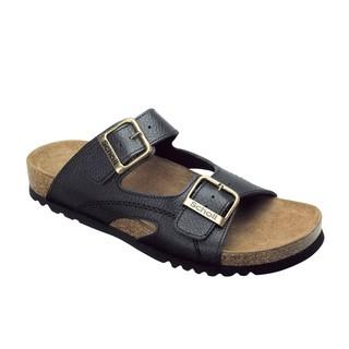 Scholl MOLDAVA - černé zdravotní pantofle