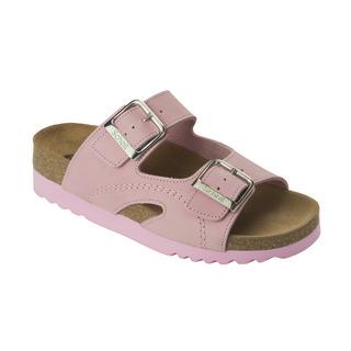 Scholl MOLDAVA WEDGE AD - růžové zdravotní pantofle