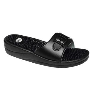 Scholl NEW MASSAGE černé - zdravotní pantofle