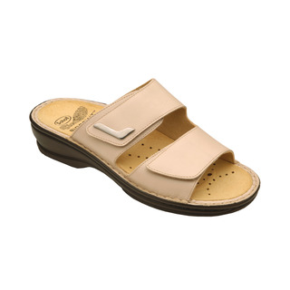 Scholl NEW MIETTA béžové zdravotní pantofle