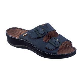 Scholl WEEKEND tmavě modré - zdravotní pantofle