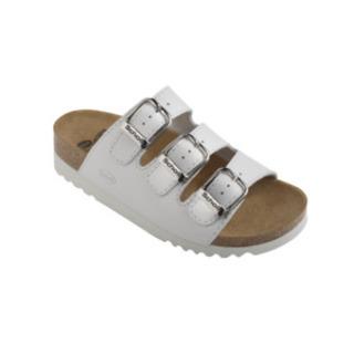 Scholl RIO bílé - zdravotní pantofle