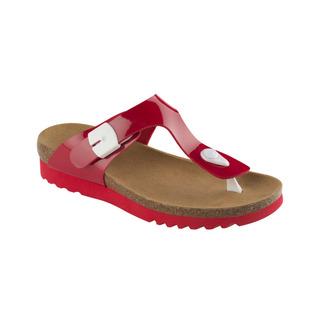Scholl BOA VISTA UP červené - zdravotní pantofle